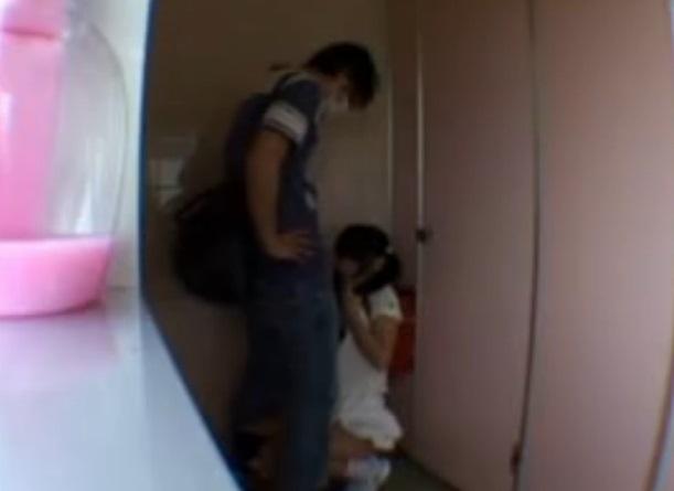 【個人撮影】足●区児●公園の公衆トイレで起きた少女連続レイプ動画が流出