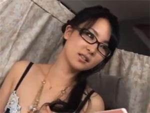 キャッチした眼鏡の美しい乳ヒトヅマをHOTELに連れ込み妊娠させるつもりでナカ出し☆