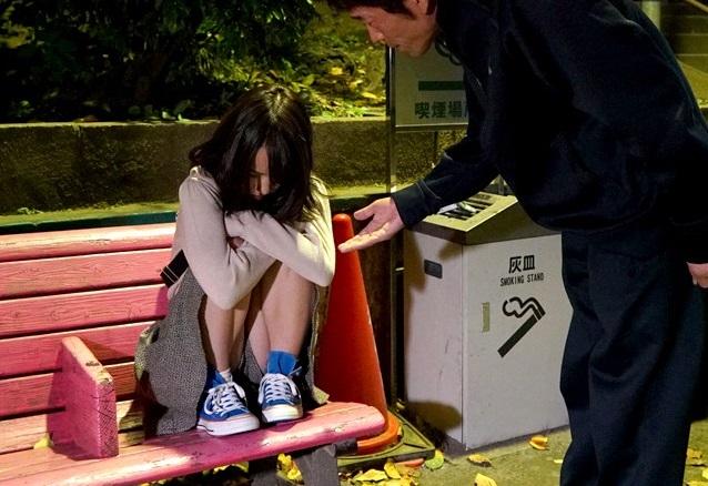 イエデして公園で一人ぼっちの10代小娘をお家で種付けナカ出し強姦した一部始終…(あべみかこ)