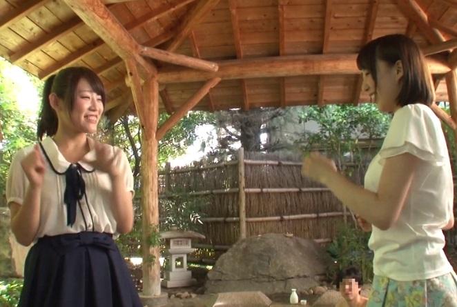 箱根でデート中のシロウトカップルが対抗☆勝てば100萬、負ければ恋人が男性客に輪姦される野球拳対決☆