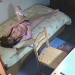 【家庭内盗撮】JCの妹の部屋に仕掛けた隠しカメラにオナニーする一部始終が映ってたwwww