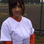 【素人】AVとは一生無縁!可愛すぎると話題の本物の女子野球選手にガチ出演交渉した結果…舞野いつき