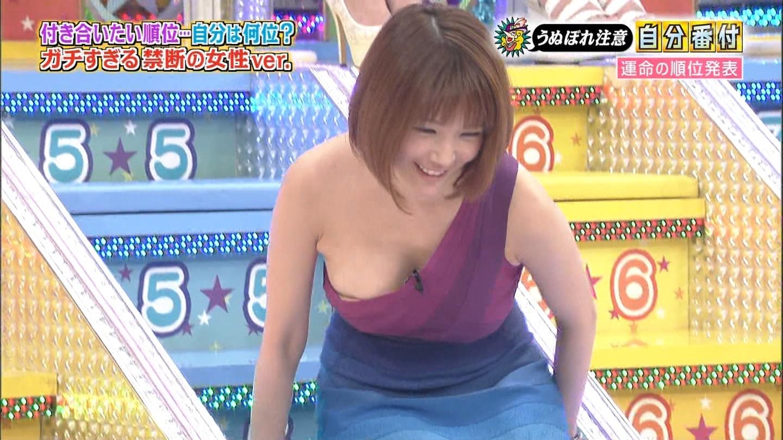 (TVお乳ハプニング15枚☆)アイドルの谷間がすげー☆☆こんなの放送していいん?wwwwwwww