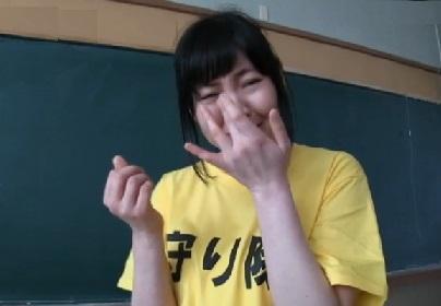 【素人】『上原亜衣ちゃんの身代わりになります!』100人×中出しの守り隊に応募してきた一般人の女性がいた!