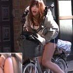 【アクメ自転車】昼間の商店街で絶頂wwwサドルに付いた強力バイブを挿入したまま街を走らせる鬼畜企画!