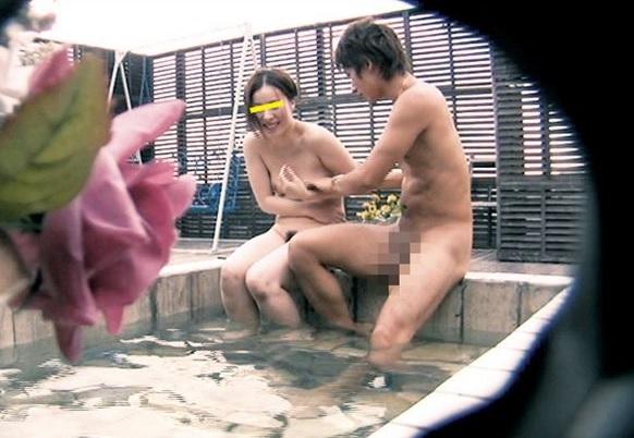 (ネトられ企画)お堅いアナタの奥さんを貸し切り風呂でウワキさせます☆