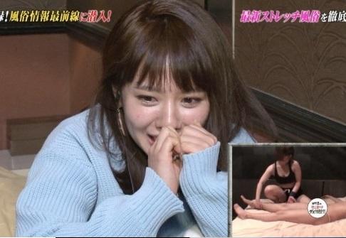 これ以上最低な番組ある?BSスカパーで元NMB48メンバーに番組Dの射精の瞬間を見せるwwww