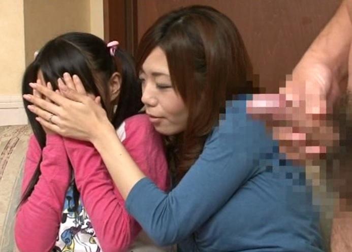 (オヤコ丼)『見ちゃだめ☆☆』性教育調査と称して母小娘一緒にAV鑑賞後、フルボッキちんこを見せた結果wwwwwwww
