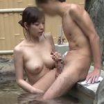 【モニタリング】いきなり全裸でご対面!「混浴モニター」で2人きりになった初対面男女は出会って何分でセックスしてしまうのか?