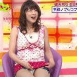 【放送事故】テレビに映った芸能人・女子アナのパンチラお宝シーンがこちらwwwww