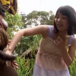 【企画】日本人女性VSアフリカの原住民!デカすぎるチンポにビビりながらSEX交流を図るwwww