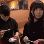 【素人ナンパ】可愛いと噂の赤坂の焼肉屋の看板娘にAV出演をガチ交渉した結果…