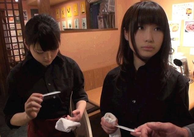 (シロウトキャッチ)カワイいと噂の赤坂の焼肉屋の看板小娘にAV出演をガチH交渉した結果…
