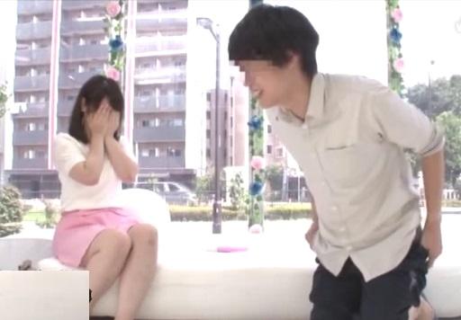 (マジックミラー号)『ちょっと☆本当に出すの☆?』相互おなにーで賞カネゲットに挑戦した女子大学生。男親友のフルボッキに大赤面wwwwww