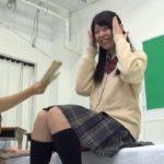 【素人】1回イったら10万円!制服モデルのアルバイトに来た現役JKに公開オナニーをお願いした結果wwwww