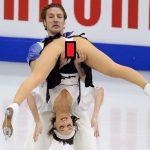 【悲報】フィギュアスケートの男女ペアで手が滑ってパートナーの女性器をくぱぁしてしまう大事故wwww