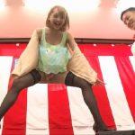 【素人ナンパ】落ちたら即セックス!賞金100万円をかけた股裂けクイズに挑戦してしまったミニスカ&ハイヒール素人の末路wwwww