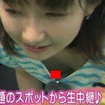 【放送事故】編集不可な生中継で映ってしまった女子アナの乳首チラ・パンチラまとめwwwww