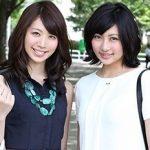 【素人】舞ワイフシリーズ最高傑作と言われる友人と一緒にAV出演した人妻の3P映像!内海直子&仁科紀子