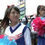 """【島崎綾】甲子園中継で""""可愛すぎるチアガール""""として話題になった美少女がAVデビュー!"""
