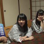 【モニタリング】キス1万、フェラ2万、中出しで10万円!旅行中の女子大生集団が見ず知らず男子グループに夜這いミッション!