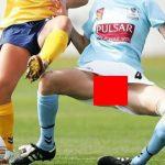 【放送事故】女子サッカー中継でビラビラが映る大事故wwwwwww