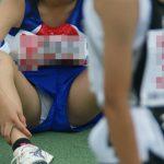 【胸チラ・パンチラ】陸上女子の動画像を100%エロい目線で集めた永久保存版wwww