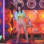 【放送事故】アキラ100%の裸芸に挑戦した現役アイドル、失敗してマンコ丸出しになるwwww