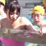 【おねショタ】『こらッ…!そんなとこ指入れたら…アン!』水泳の補修授業でエロガキ中坊に犯された巨乳先生