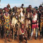 【海外出張企画】日本のギャル(20歳)がアフリカ部族にアポなし突撃訪問!現地の巨根村人とのSEXに挑戦するドキュメント企画