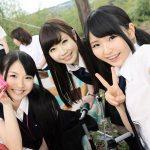 【家庭用ビデオ】卒業旅行でキャンプ場に来た女子校生7人がハメを外して地元民と乱痴気騒ぎwww