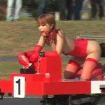 【美しい国日本】女子たちがバイブをハメながらでサーキット対決!『FUCK-1 日本グランプリ』とかいうAV史上最も狂った企画がこちらww