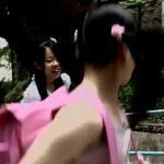 これはアカン…小●生の娘をAV出演させてレズらせてる『朝倉家3姉妹物語』とかいう問題作品がこちら
