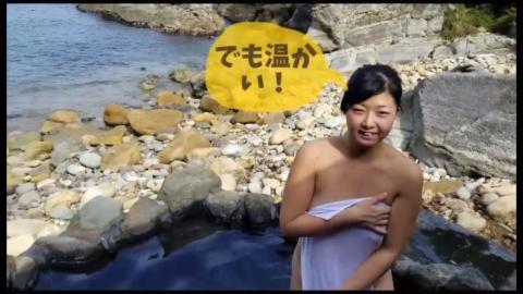 タオル一枚で温泉レポートに挑戦した女性YouTuberさん。案の定、無修正マンコが映る大事故wwww