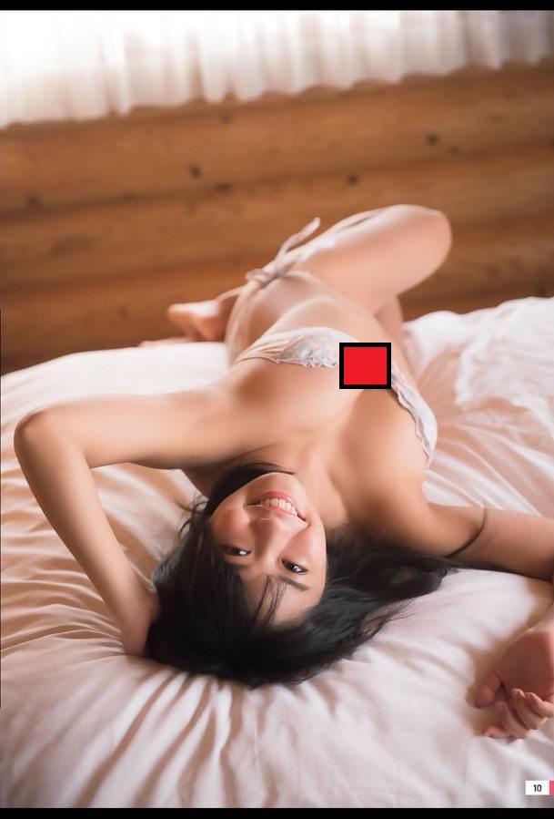 大原優乃 乳首