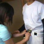 【個人撮影】強豪野球部の性事情が流出!試合前にナインを抜いてあげる女子マネージャーの性処理映像