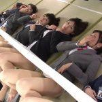 SOD女子社員7名が男性ユーザーの前でくっぱぁ!処女まで強制参加させられた社内お花見大会がこちらww