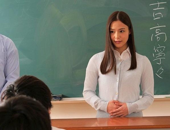 【凌辱レイプ】美人すぎる新米女教師の顧問先は不良の溜まり場になってるテニス部