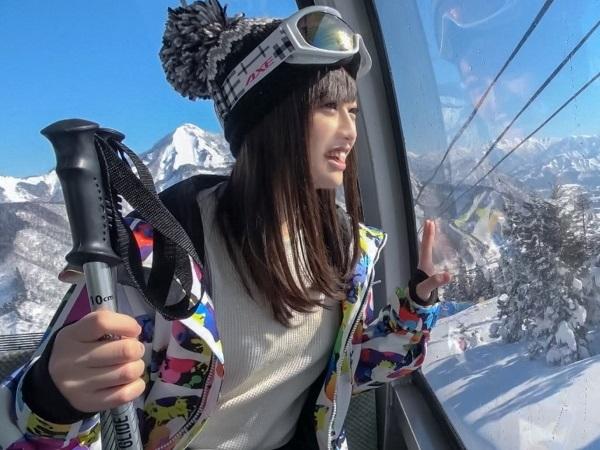 【素人ナンパ】一人でスキーの練習をしていたクッソ可愛い歯科衛生士のたまご(21歳)のハメ撮りに成功!
