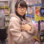 チンチンすらまともに見た事ない文学少女(20)がアダルトショップで初めてのAV購入して即AVデビュー!百葉花音