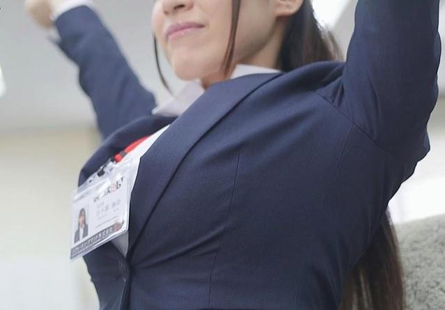 日下部加奈 爆乳IカップでSODに入社してしまった1年目の女子社員さん 、問答無用でAVデビューさせられるw