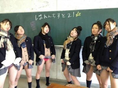 完全に無法地帯ww!底辺女子校内で撮影されたJKのおふざけエロ動画象まとめ