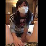 【個人撮影】『ん~変な味ww』ホテルでJCに人生初めてのフェラ&ごっくんをさせた一部始終