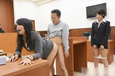 女弁護士・女刑事・女看守 生意気な女といつでも中出しセックスが出来る『SEXのハードルが異常に低い世界~お堅い職業編~』