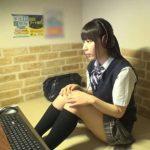 【素人×自慰】意外とヤッてる! ネットカフェの個室でオナニーしちゃった素人の盗撮動画が流出!