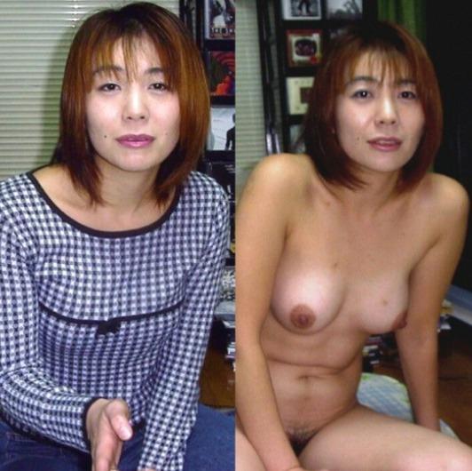 素人 ママと妻のギャップ 画像