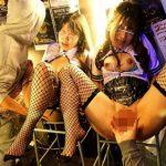 ハロウィン当日の渋谷で決行!お祭り状態で浮かれるコスプレ女たちを狙った集団レイプ映像!