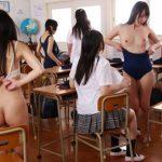 男子禁制の女子校で時間停止発動!水泳授業後の教室で着替える女子校生10人に片っ端から中出し!