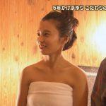 【放送事故】「マンコ見えた!」と視聴者騒然!小島瑠璃子、バスタオルのまま体育座りをしてしまうwww